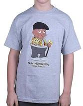 Heist & Co. Mens BIG Streetwear Culture Red Gray N-N-Notorious Hip Hop T-Shirt