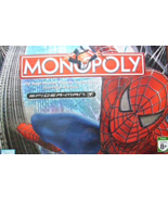 MONOPOLY SPIDER-MAN BY PARKER BROTHERS - $21.00
