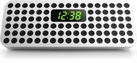 Philips SBT310W/37 Bluetooth Wireless Speaker w/ Clock Display  - $14.95