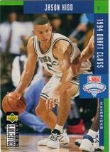 1994-1995 Upper Deck Collector's Choice Card Jason Kidd #408 Rookie Mavericks - $3.95