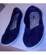 BASIC EDITION  * CANVAS * BLUE - SIZE 8.5 -100% COTTON UPPERS - $8.99
