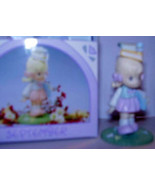 PRECIOUS MOMENTS *SEPTEMBER* MINIATURE MONTHLY FIGURINE - $12.99