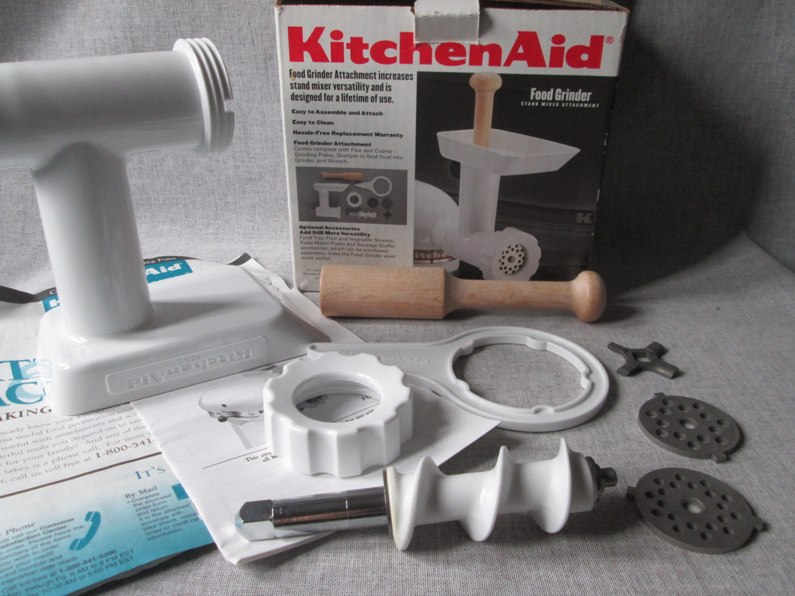 Kitchenaid Stand Mixer Food Grinder Attachment Fga
