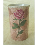 Once Upon a Rose, Vase/Utensil Holder, NIB - $19.00