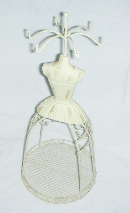 Jewelry Display Mannequin Shabby Chic