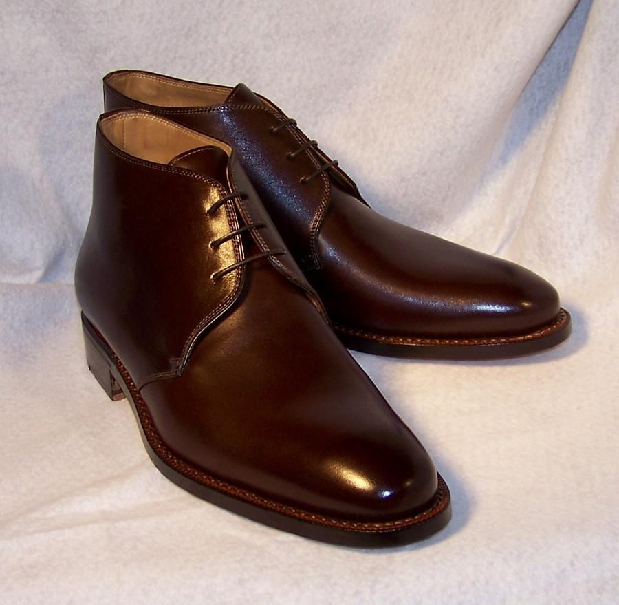 handmade mens brown jodhpur leather boots custom