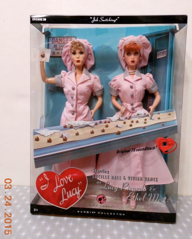 I Love Lucy and Ethel - Job Switching -Episode 39 - Mattel - NRFB