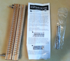 """KB 10"""" ( 25CM) Authentic Knitting Board Loom With Basic DVD  - $26.35 CAD"""