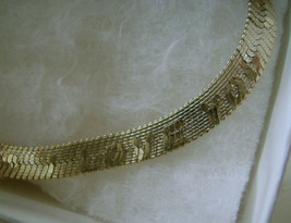 "Necklace, Goldtone Chain Says ""I Love You"" - $10.00"