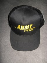 USA United States Army Strong Military Black Embroidered Mesh Back Baseb... - $19.79