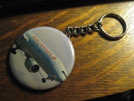 Air Canada Boeing 777 Logo Advertisement Keychain Backpack Purse Clip Or... - $10.88