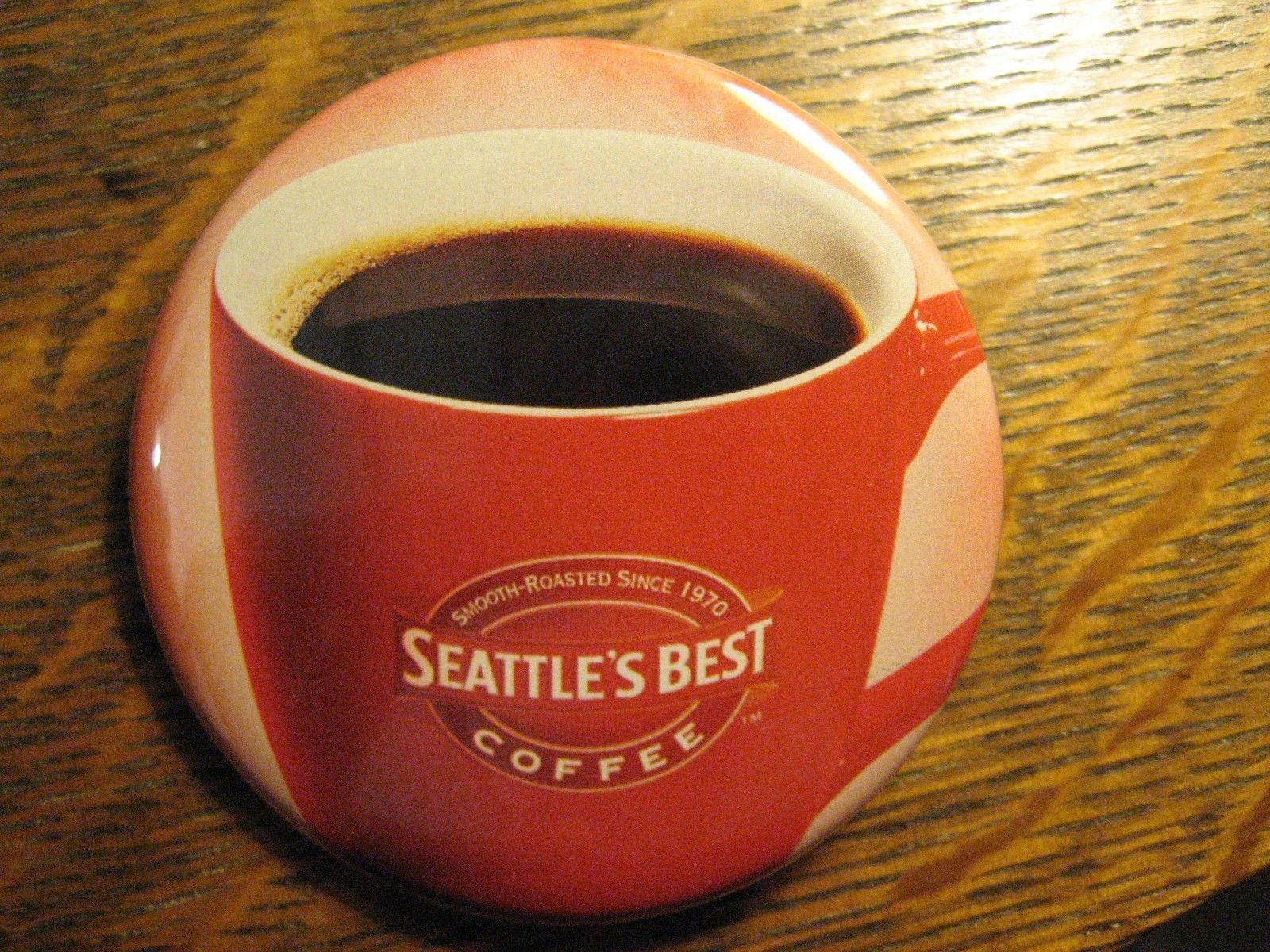 Seattle 39 S Best Coffee Shop Java Cup Logo Advertisement