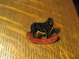 Newfoundland Dog Black Shaggy Canine Owner Lover Collector Lapel Hat Lap... - $19.79