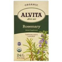 Alvita Tea - Organic - Rosemary Herbal - 24 Tea Bags - $6.32