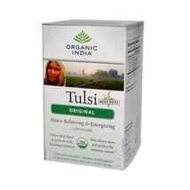 Organic India Tulsi Tea Original - 18 Tea Bags - Case Of 6 - $26.17