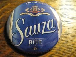 Sauza Blue Agave Tequila Mexico Logo Bottle Label Advertisement Lapel Bu... - $19.79