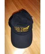 USN United States Navy USA Sports And Fitness Nu-Fit Baseball Cap Hat NW... - $24.74