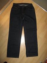 DKNY Wm's Jeans - Donna Karan New York Womens Dark Blue Denim Jeans 5 Short - $19.79