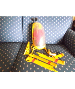 GI Joe Yellow Helicopter and Pilot in red jumpsuit - $100.00