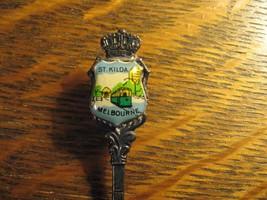 St. Kilda Melbourne Australia Tram Vintage Souvenir Collectible Demitass... - $19.79