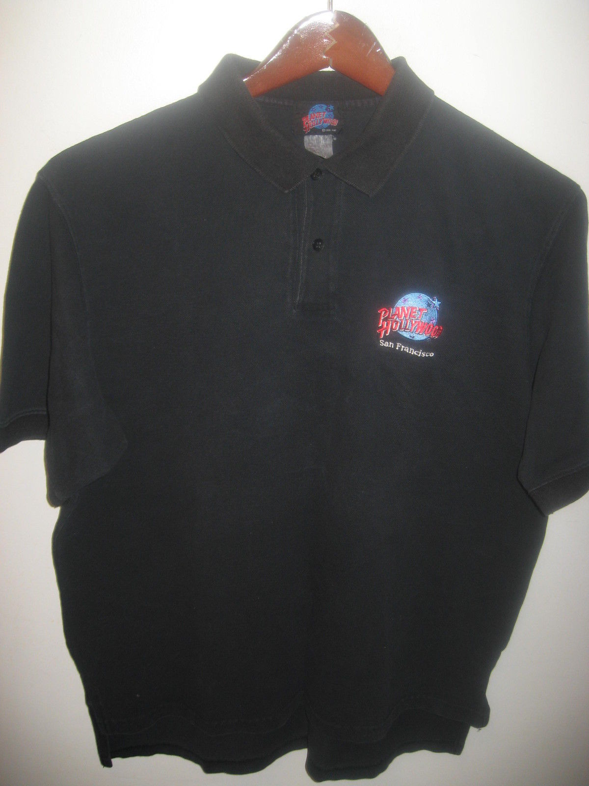 Planet hollywood san francisco vintage 1990s embroidered for Planet hollywood t shirt