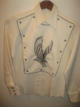 Tony Alamo Of Nashville Vintage Bib Embroidered Country Western Shirt Bo... - $296.99
