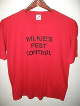 Wilkie's Pest Control Edgewater Florida USA Vintage 1980's Thin Coach T ... - $29.69
