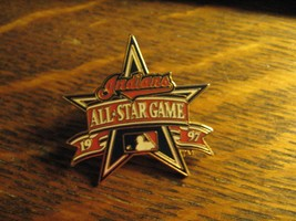 MLB Major League Baseball 1997 All Star Game Cleveland Indians USA Lapel... - $24.74