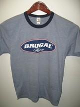 Brugal Rum Puerto Plata Dominican Republic Cocktail Bar Thin Ringer T Shirt Sm - $22.76