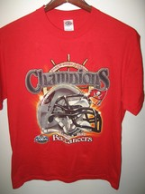 Tampa Bay Buccaneers Florida Football NFL Superbowl XXXVII 2002 Champs T... - $24.74