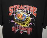 Syracuse University Orange Basketball 2006 NCAA USA Champions Ring T Shirt Lrg