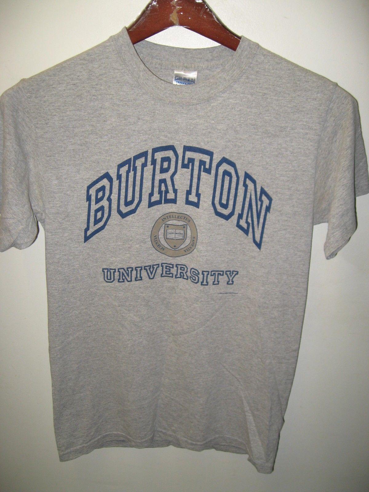 Burton university alma mater school college education for Alma mater t shirts