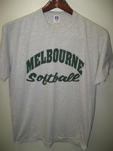 Melbourne Softball School Team Russell Athletic Florida USA Team Sport T... - $29.69