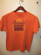 Chisick Rugby Football American Rag Cie. Company Sports Orange Team T Sh... - $19.79