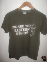 New Jersey We Are Eastern Region East Area 1970's Russell Athletic T Shi... - $29.69