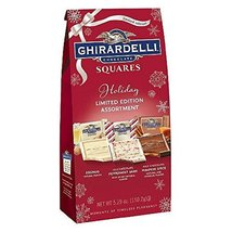Ghirardelli Chocolate Squares Holiday Limited Edition Assortmet 5.29 oz - (Pack  - $20.29