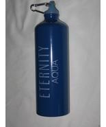 Calvin Klein CK ETERNITY Aqua WATER BOTTLE with Clip Brand New - $2.95