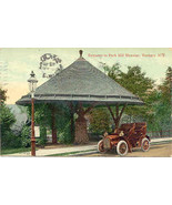 Park Hill Elevator Yonkers New York Post Card Vintage 1909 - $5.00