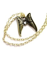Angel Wings Anklet (Ankle Bracelet) with Pair of Angel Wings Charm - $16.00