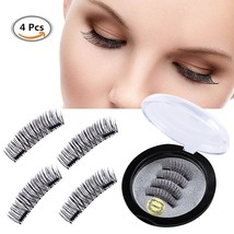 Double Magnet False Eyelashes , Magnetic Eyelashes , 3D Natural Reusable... - $22.09