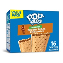 Pop-Tarts, Toaster Pastries, Unfrosted Brown Sugar Cinnamon, 16 Ct - $7.00