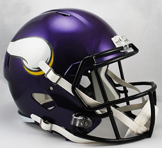 Minnesota Vikings Deluxe Replica Speed Helmet**Free Shipping** - $129.00