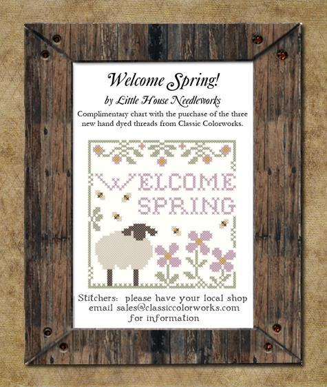Welcome spring complimentary chart