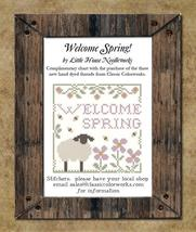 WELCOME SPRING (FREE) + 3 New Nashville 2015 Classic Colorworks floss   - $6.45