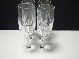 4 Schott Zwiesel Gardone Footed Champagne Flute... - $29.99