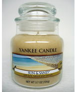 Yankee Candle Small Jar Sun nSand HouseWarmer Ocean Beach x3 - $15.29