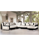 Modern Italian Design Leather Sectional Sofa. Model: CP-3335 - $2,595.00