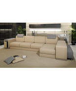 Ashley Modern Leather Sectional Sofa. Model: FY955-2 - $2,595.00