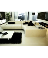 Franco Collection Modern Sectional Sofa - White. Model: LF-1007-WH - $1,995.00