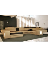 Italian Design Modern Sectional Sofa - Honey or Beige. Model: LF-4001 - $2,799.00